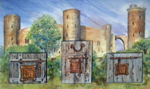 LATCHES OF BELLVER CASTLE  - 26 X 16 inches  $395