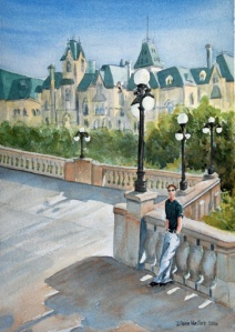 DARREN IN OTTAWA  10 X 14 inches NFS
