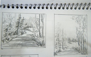 sketch 1 and sketch 2