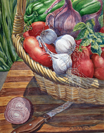FRESH TOMATO SAUCE 15 X 19 inches $400
