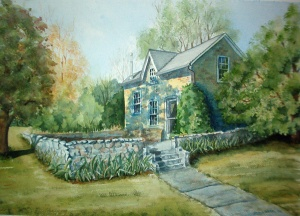 HOMER WATSON CARRIAGE HOUSE 18.5 X 13 inches $225
