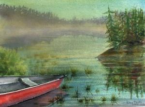 NORTHERN CANOE TRIP 20 X 14 $200