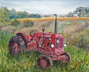 NUFFIELD 460 TRACTOR - 14 X 10 $200